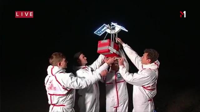 Команда Cosmos Agency Strato поднимает стратостат на камеру
